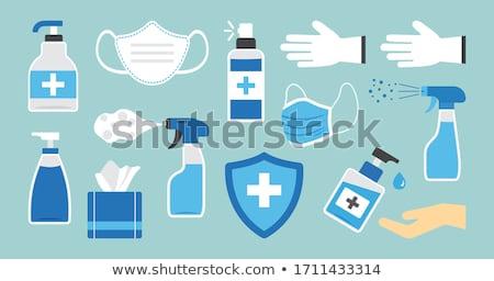 個人衛生 · アイコン · バス · 化粧品 · 孤立した - ストックフォト © netkov1