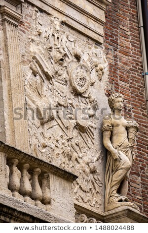 Facade from Loggia del Capitaniato, designed by Andrea Palladio  Stock photo © boggy