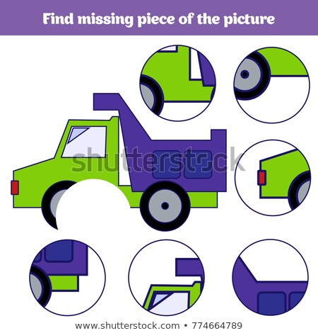 find the missing part squares stock photo © olena