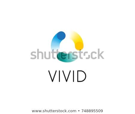 Terv kreatív logotípus cég ikon vektor Stock fotó © robuart