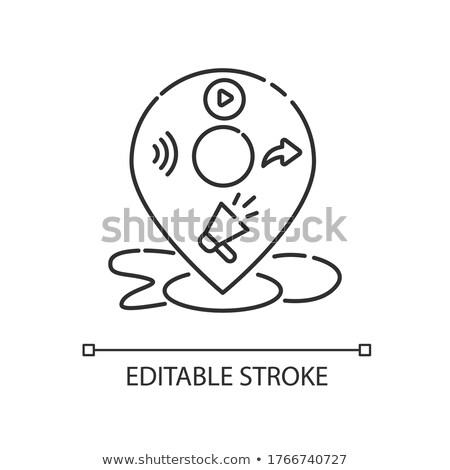 Production icône vecteur illustration signe Photo stock © pikepicture