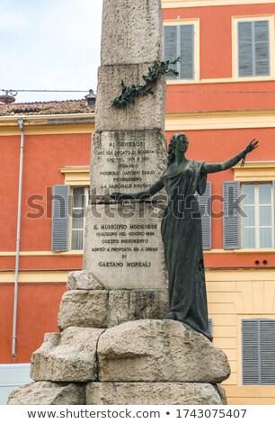 Libertação Itália mulher luz arte urbano Foto stock © boggy