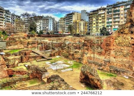 Galerius Palace Complex, Thessaloniki, Greece Stock photo © borisb17