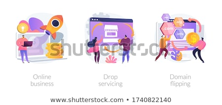 домен аннотация интернет бизнеса покупке название Сток-фото © RAStudio
