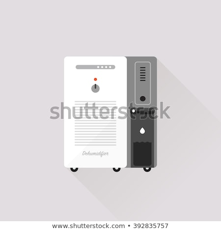 Portable Air Fan Cooling Equipment isometric icon Stock photo © pikepicture
