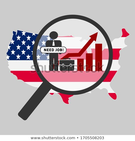 Unemployment in USA Stock photo © jamdesign