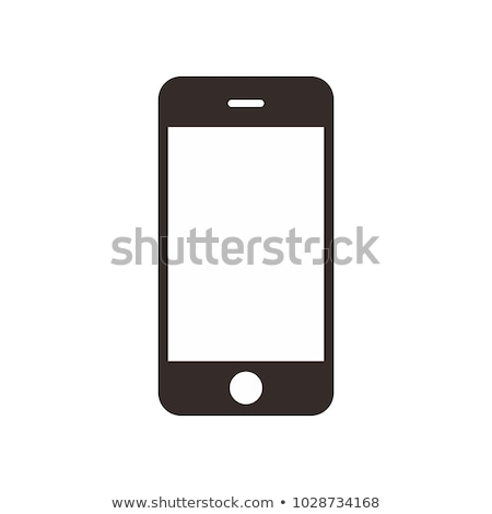 Stock photo: cellphone icon