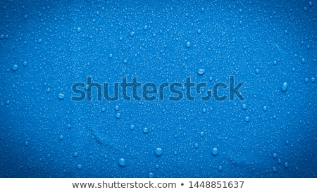 Mavi damla cam beyaz soyut dalga Stok fotoğraf © Calek