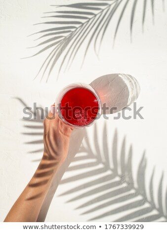 woman drinking fresh spring water nature Stock photo © photography33