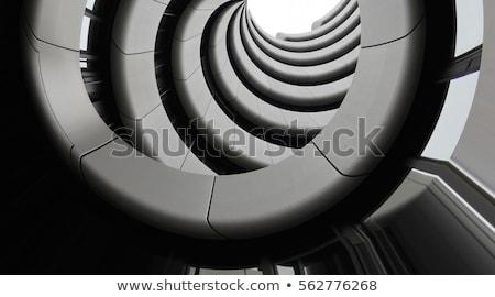 внешний · современное · здание · стены · двери · свет - Сток-фото © donatas1205