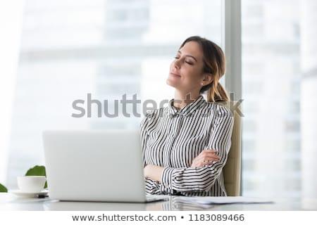 Femme d'affaires rêvasser affaires travaux exécutif portrait Photo stock © photography33