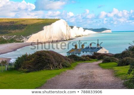 cliffs and sea near Newhaven Stock photo © prill