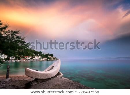 görmek · akdeniz · olağandışı · su · deniz · mavi - stok fotoğraf © timwege