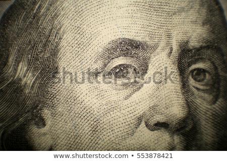 ötven · dollár · bankjegy · arc · pénzügy · pénz - stock fotó © jeremywhat