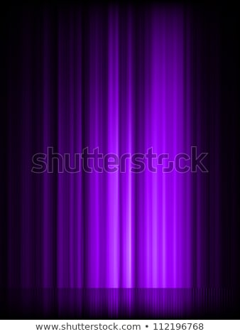Stars on purple striped background. EPS 8 Stock photo © beholdereye