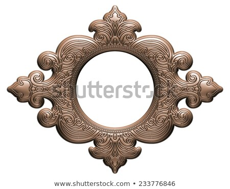 Empty Interior with Silver Damask Stock photo © TLFurrer