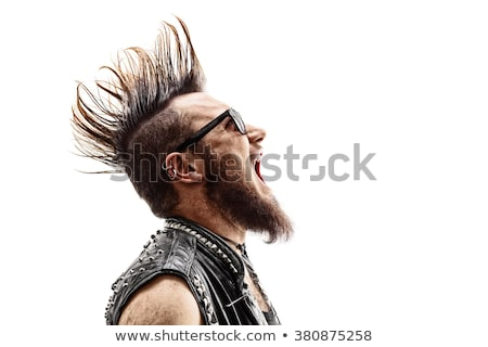 Punk Rocker Stock photo © piedmontphoto