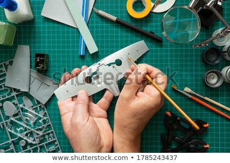 Making a scale Stock photo © iko