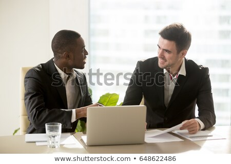 business professionals having a discussion stock photo © photography33