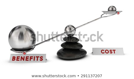 Costs and benefits Stock photo © Lightsource