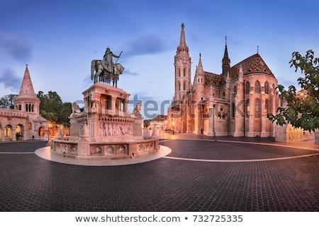 saint matthias church and fisherman bastion in budapest hungary stock photo © bertl123