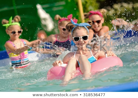 дети · Бассейн · счастливым · детей · лет - Сток-фото © cteconsulting