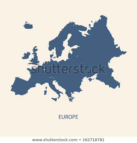 Europe map with Poland Stock photo © Ustofre9
