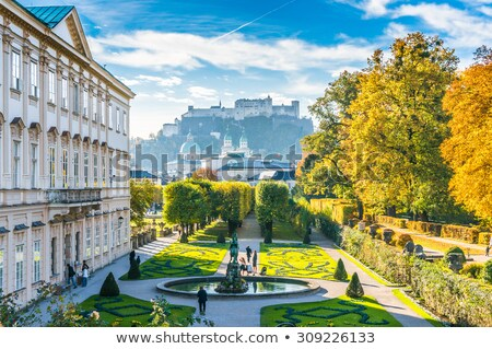 Mirabell palace in the summer (Salzburg, Austria ) Stock photo © frank11