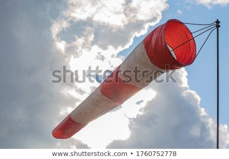 аэропорту · красный · Storm · ветер · фоны · воздуха - Сток-фото © stevanovicigor