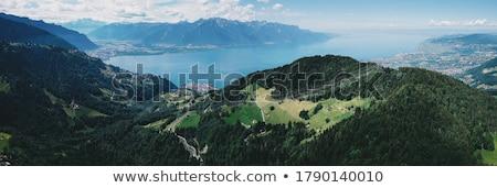 Suíça · nublado · dia · céu - foto stock © elenarts