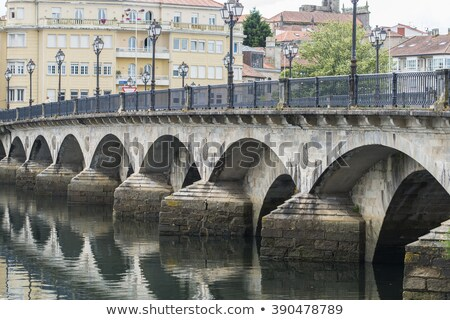 Ponte de Burgo bridge, Pontevedra, Galicia Stock photo © dinozzaver