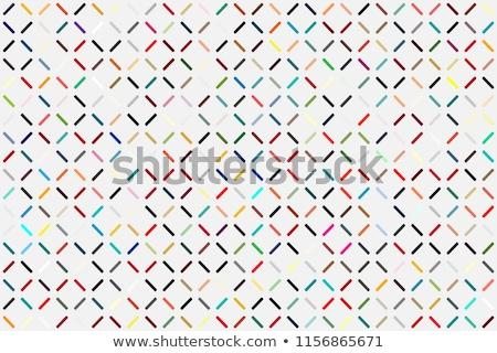 Vector naadloos meetkundig briljant patroon abstract Stockfoto © pzaxe