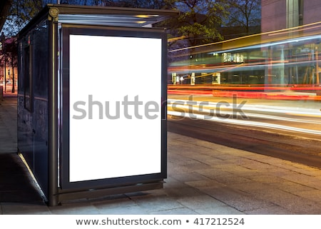 bus stop stock photo © spectral