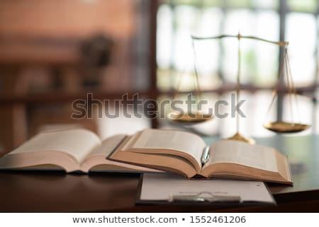 civil law business background stock photo © tashatuvango