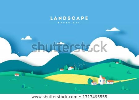 Ecological style background Stock photo © HASLOO