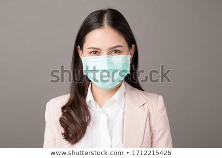 Young beautiful businesswoman stock photo © Kurhan