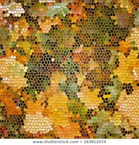 tree like mosaic background stock photo © mycola