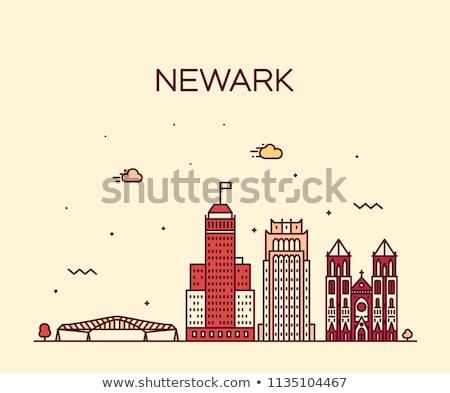 view to Main street of Newark  Stock photo © meinzahn