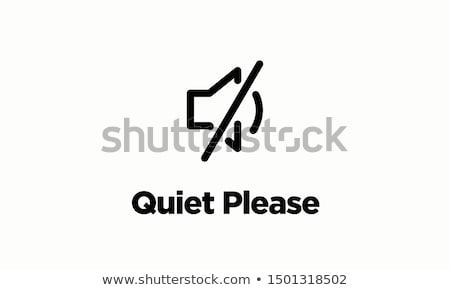 Be quiet Stock photo © badmanproduction