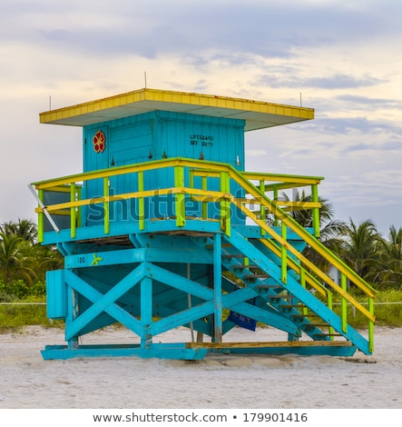 Torre sul praia Miami Flórida paisagem Foto stock © meinzahn