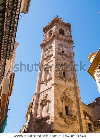 Valencia Santa Catalina church belfry tower Spain Stock photo © lunamarina
