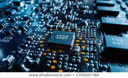 Placa-mãe abstrato fundos engenharia eletrônica Foto stock © bmonteny