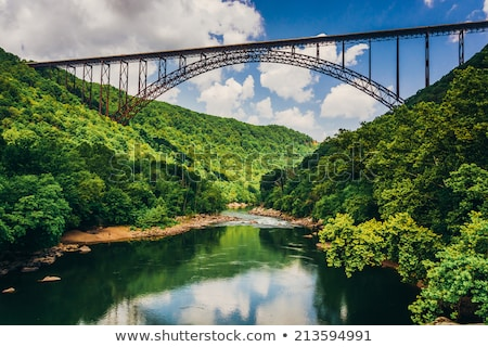 new river gorge scenics Stock photo © alex_grichenko