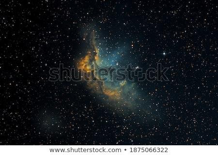 nebula · bilimsel · güneş · ışık · ay · uzay - stok fotoğraf © rwittich