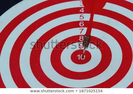 Crisis - Arrows Hit in Red Mark Target. Stock photo © tashatuvango