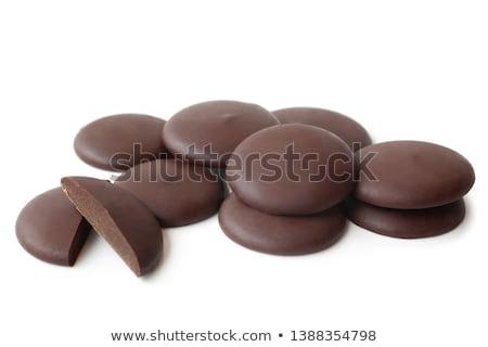 шоколадом кнопки конфеты красочный белый Сток-фото © dezign56