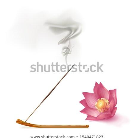 Stock photo: Incense Sticks Burning