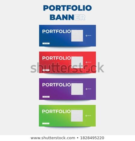 Legal simples login tela projeto enorme Foto stock © vipervxw