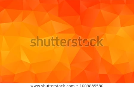 Low Poly Orange Triangular Abstract Background Stock photo © stevanovicigor