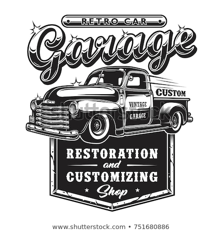 restored vintage truck stock photo © alphababy